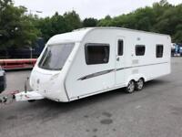 2009 Swift Charisma 610 4 Berth caravan FIXED ISLAND BED, FULL AWNING Bargain!