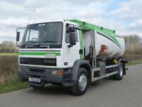 DAF FA 55 210 4 X 2 12300 Litre Fuel Tanker
