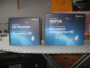 Shaw Direct TV, Satellite Receiver and HDPVR