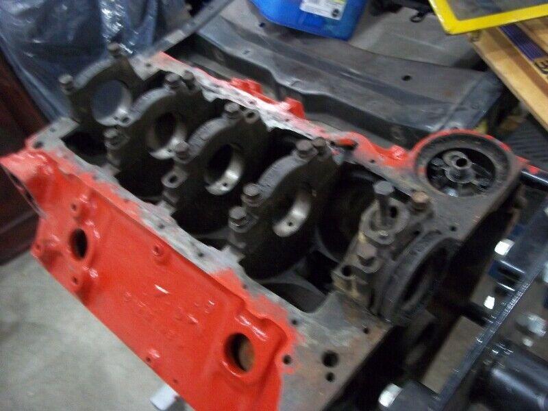 350 4bolt block 010 Camaro, Corvette, Nova Impala   Engine