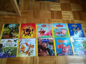 Lot de 10 livres Disney phidal