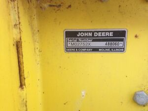 "John Deere 42"" two stage snowblower"