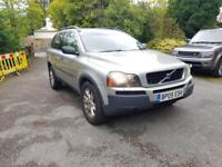 2005 05 reg Volvo XC90 2.4 D5 SE AUTO Geartronic 2003 2006 MY D5 SE