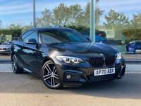 2020 BMW 2 SERIES COUPE 220i M Sport 2dr (Nav) Step Auto Coupe Petrol Automatic