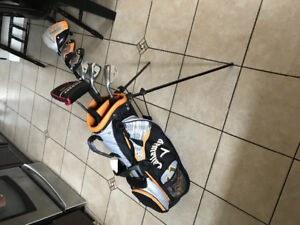 Callaway xj hot left golf clubs with odyssey putter2