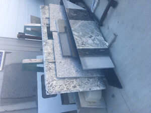 Clearout Sale for granite/quartz remnant countertops!