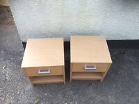 Cheap pair of bedside cabinets