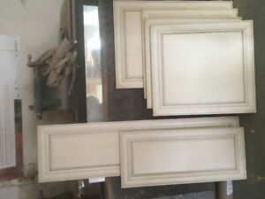 Glazed cabinet doors