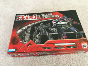 Like new risk transformers, scrabble board game lot $30 pokemon