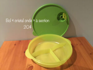 Bol à section «cristal ondes» - Tupperware