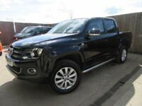 VW VOLKSWAGEN AMAROK HIGHLINE 4 MOTION DOUBLE CAB PICK UP 2.0 BI TDI 2014 VGC