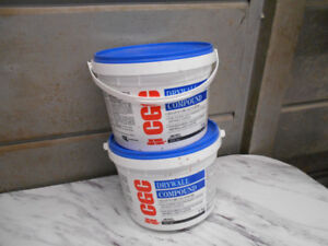 Drywall Compound and Drywall Tape