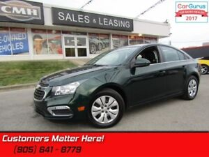 2015 Chevrolet Cruze LT w/1LT  CAMERA, BLUETOOTH, POWER GROUP