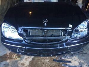 2001 S550 Crashed
