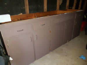 Solidly built used cabinets