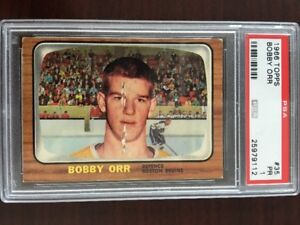 BOBBY ORR ... ONLY ROOKIE CARD ... Graded PSA 1 .. TWO available