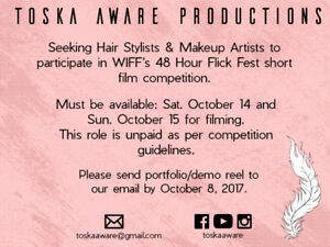 Hair Stylists Wanted for Short Film Competition
