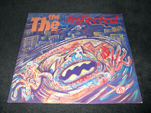 The The - Infected (1986) LP Vinyl Post-Punk Alt Rock Pop