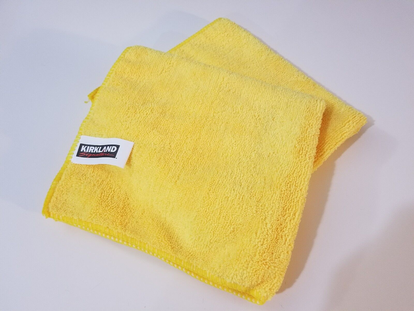 10 Pack Kirkland Signature Ultra Plush Microfiber Towels