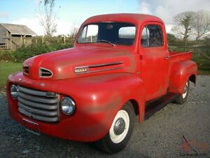 Wanted 48/49 FORD F1 parts