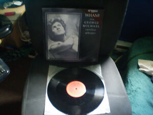 vinyl Lp George Michael/wham!/careless whisper 33 tour