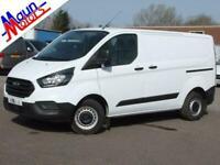 2018 Ford Transit Custom 300 TDCi 105PS 'Base', Euro 6 (SWB, Low Roof) Panel Van