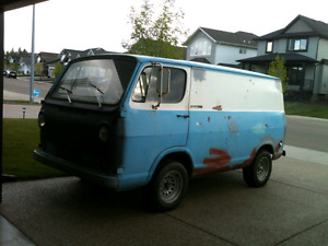 Project 1964 Chev G10 Van