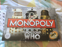 50th Anniversary Dr Who Monopoly