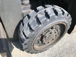 New Forklift and Skidsteer tires.