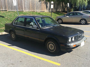 1987 BMW 325i (E30) - 5spd, no e-test required, VALID SAFETY!