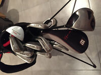 Wilson Deep Red Golf Clubs (Irons and Woods)
