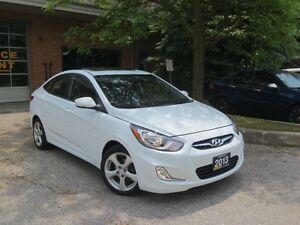 2013 Hyundai Accent GLS,ONE OWNER,LOW KM+WINTER TIRES,CERT