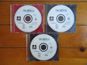 Final Fantasy VII - Playstation 1 - Discs only