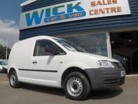 2010 Volkswagen CADDY C20 104 TDI SWB VAN *A/C* Manual Small Van