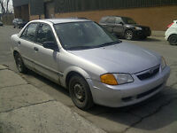 Mazda Protege 2000- Consomme peu! Save on fuel!