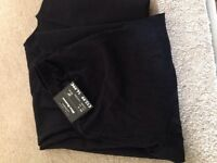 Brand new size 8 maternity black trousers