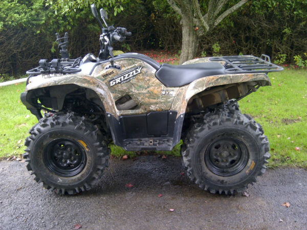 Used 2009 Yamaha 2009 Yamaha Grizzly 700 FI EPS Camo AP HD