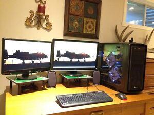 Liquid cooled gaming computer- fx 6300- r9 280x