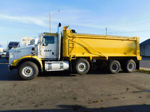 2012 Kenworth T800 Tri Axle Dump Price just Reduced !!