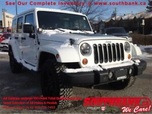 2012 Jeep Wrangler Unlimited Sahara4WD Arctic Edition! Remote St
