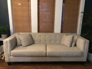 Astin Tufted Sofa or Loveseat