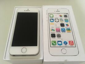 iPhone 5S- Silver-16Gb- excellent condition