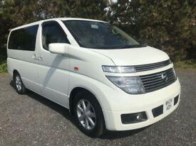 Nissan Elgrand Fresh Import, Dual Fuel LPG