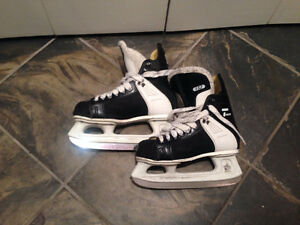 CCM Tacks skates. Youth size 3 North Shore Greater Vancouver Area image 1