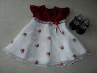 Jolie robe d'occasion 12 mois / Pretty party dress 12 months