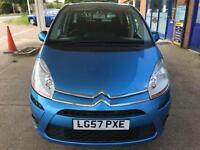 2007 Citroen C4 Picasso 1.6HDi EGS VTR+ - MOT: 18 Oct 2017 - Low Mileage - 7S.S