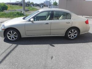 2006 INFINITY G35X SEDAN,AUTOMATIC AWD MINT CONDITION