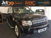 2011 11 LAND ROVER DISCOVERY 3.0 4 TDV6 HSE 5D AUTO 245 BHP DIESEL