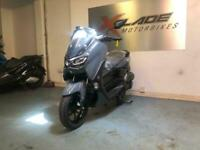Yamaha NMAX 125cc Scooter, New 2021 Model, Grey, In Stock Now