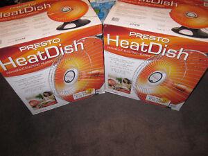 Presto® HeatDish® Parabolic Heater - like New , Open Box